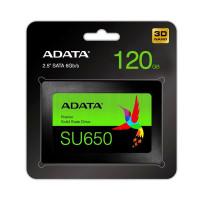 "Накопитель SSD  120GB A-Data Ultimate SU650 2.5"" SATAIII 3D TLC (ASU650SS-120GT-R)"