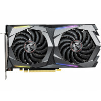 Видеокарта GF GTX 1660 Ti 6GB GDDR6 Gaming X MSI (GeForce GTX 1660 TI GAMING X 6G)
