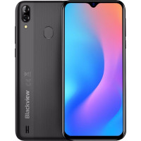 Смартфон Blackview A60 Pro 3/16GB Dual Sim Interstellar Black (6931548305767)