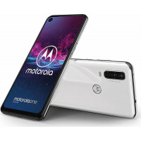 Смартфон Motorola XT2013-2 One Action 4/128GB Dual Sim White
