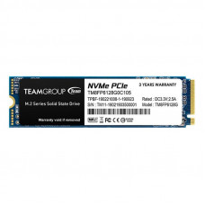 Накопитель SSD  128GB Team MP33 M.2 2280 PCIe 3.0 x4 3D TLC (TM8FP6128G0C101)