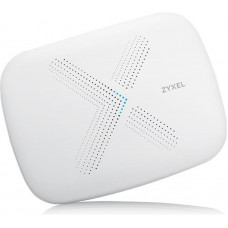 Mesh Wi-Fi маршрутизатор ZYXEL Multy X (WSQ50-EU0201F) (AC3000, 3xGE LAN, 1хGE WAN, Tri-band, MU-MIMO, 1xUSB, BLE 4.1, 9 антенн, Amazon Alexa, 2-pack)